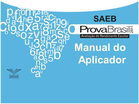 Manual do Aplicador.
