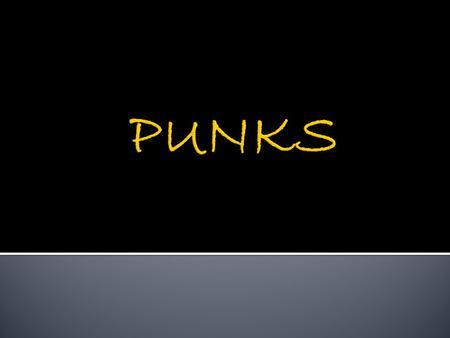 fbbc07e396 A partir do fim da década de 1970 o conceito de cultura punk adquiriu novo