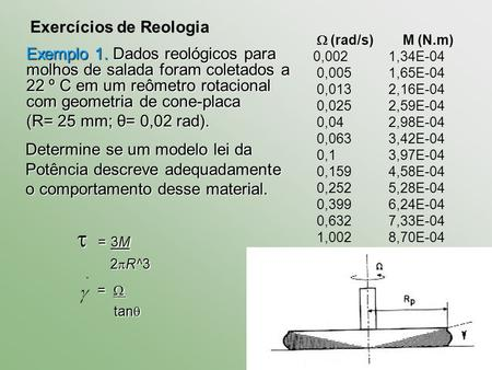 Exerccios do clculo da energia gasta no atrito ppt carregar 3m exerccios de reologia ccuart Choice Image