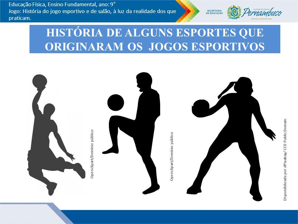 HISTÓRIA DE ALGUNS ESPORTES QUE ORIGINARAM OS JOGOS ESPORTIVOS 7838ceec1b2ab