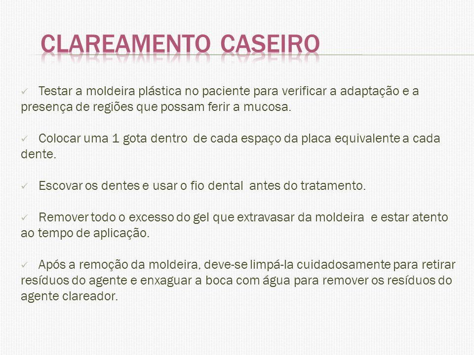 Clareamento Dental Ppt Carregar