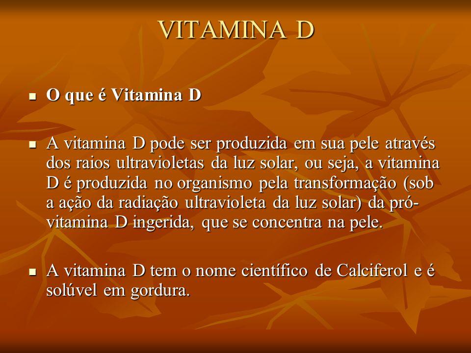 0997ecf7c VITAMINA D O que é Vitamina D - ppt carregar