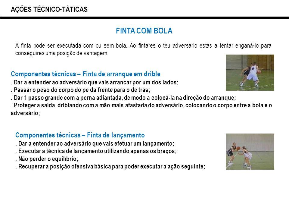 DRIBLE AÇÕES TÉCNICO-TÁTICAS. 34 FINTA ... ad6aa0b5ac41a