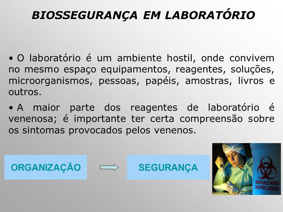 07b3b6a963f92 BIOSSEGURANÇA E DESCARTE DE RESÍDUOS QUÍMICOS EM LABORATÓRIO - ppt ...