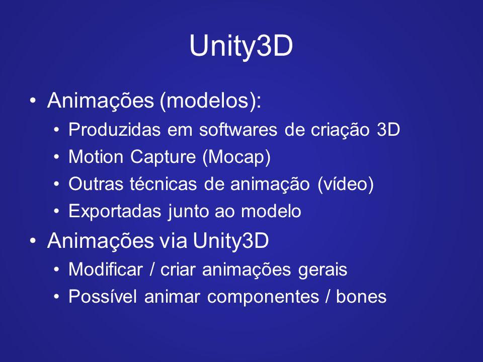 Unity 3D Animações – Parte I - ppt carregar