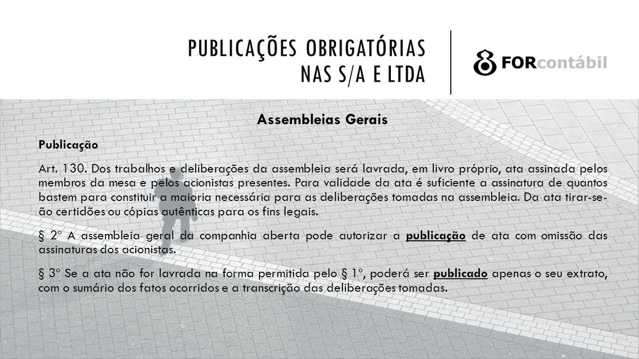 Publicações Obrigatórias Nas Sa E Ltda Ppt Carregar