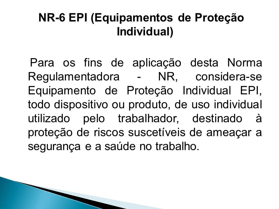 NR-6 (EPI – Equipamentos de Proteção Individual) - ppt video online ... 4114b9f304