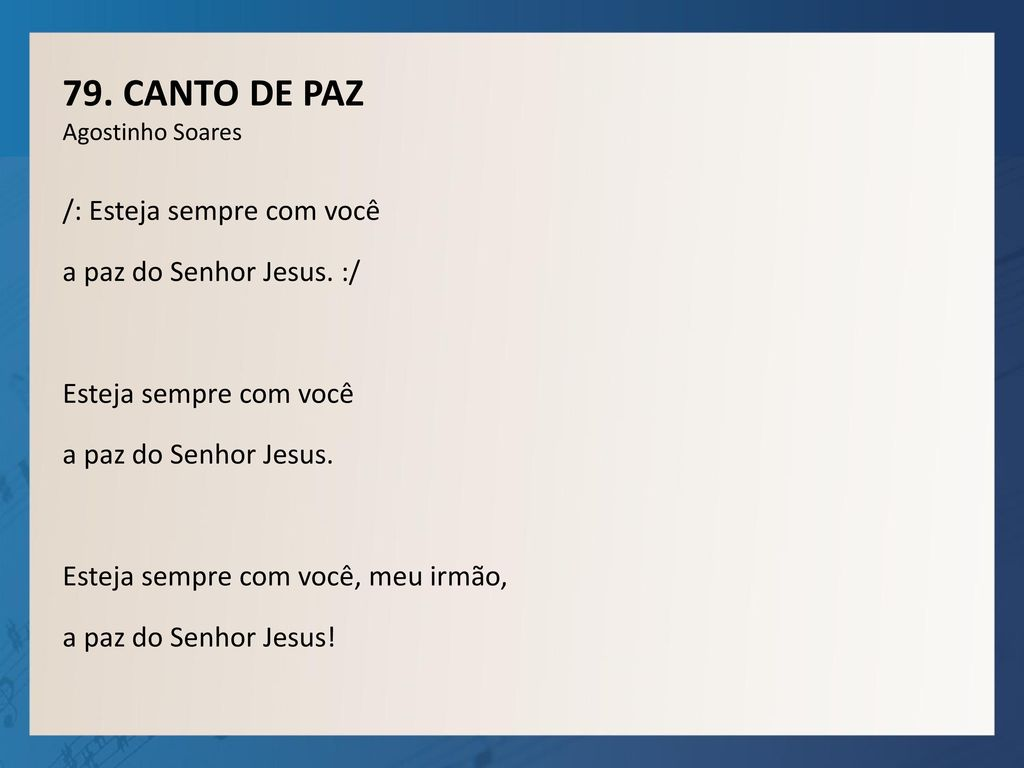 1. ABRE, SENHOR, OS MEUS LÁBIOS Fr. Luiz C. Susin Abre