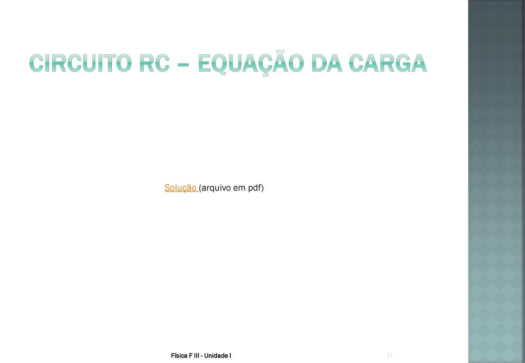 Circuito Rc : Aula 4 u2013 corrente elétrica e circuitos elétricos ppt carregar