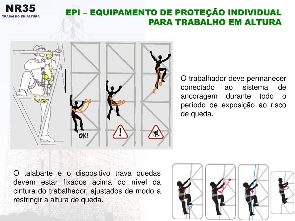 EPI – EQUIPAMENTO DE PROTEÇÃO INDIVIDUAL PARA TRABALHO EM ALTURA 25e82ebfa8