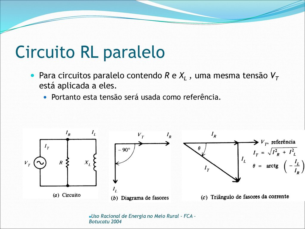 Circuito Paralelo : Paralelo circuito rlc paralelo electricidade sitapati