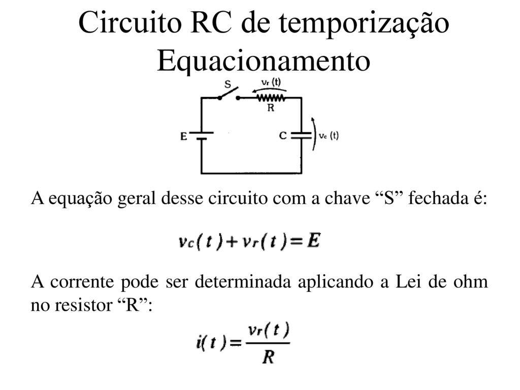 Circuito Rc : Dispositivos reativos ppt video online carregar