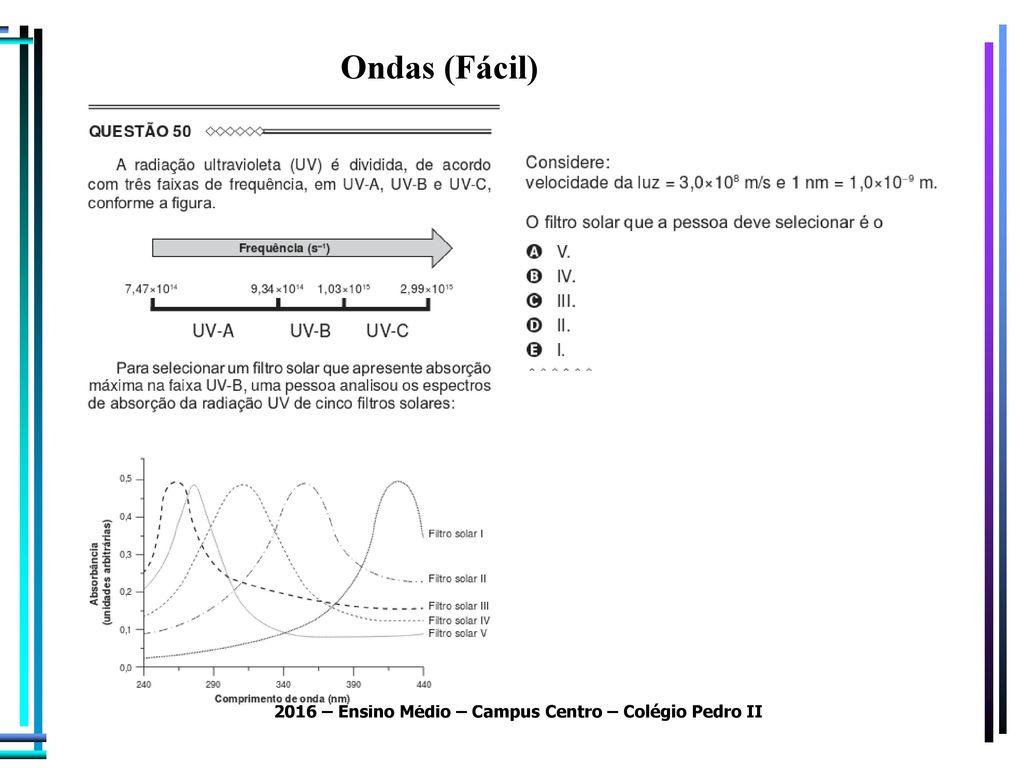 Resolução Questões Enem Física – 2015 (1º aplicação) - ppt
