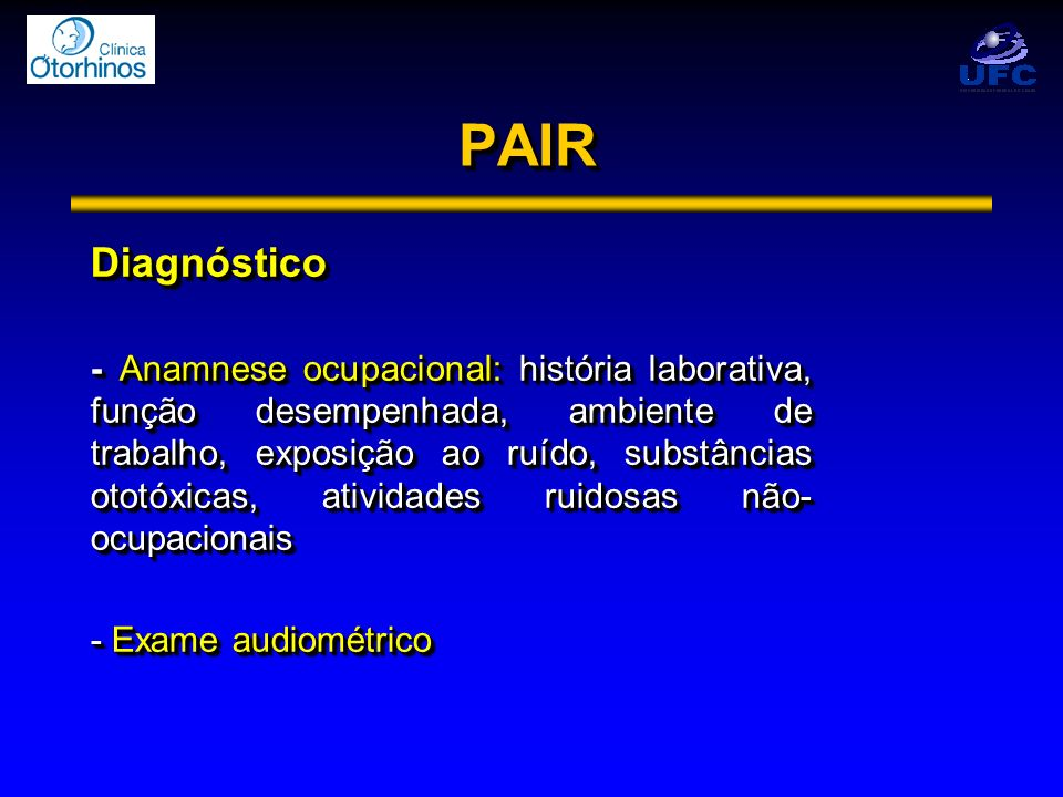 PAIR Diagnóstico.