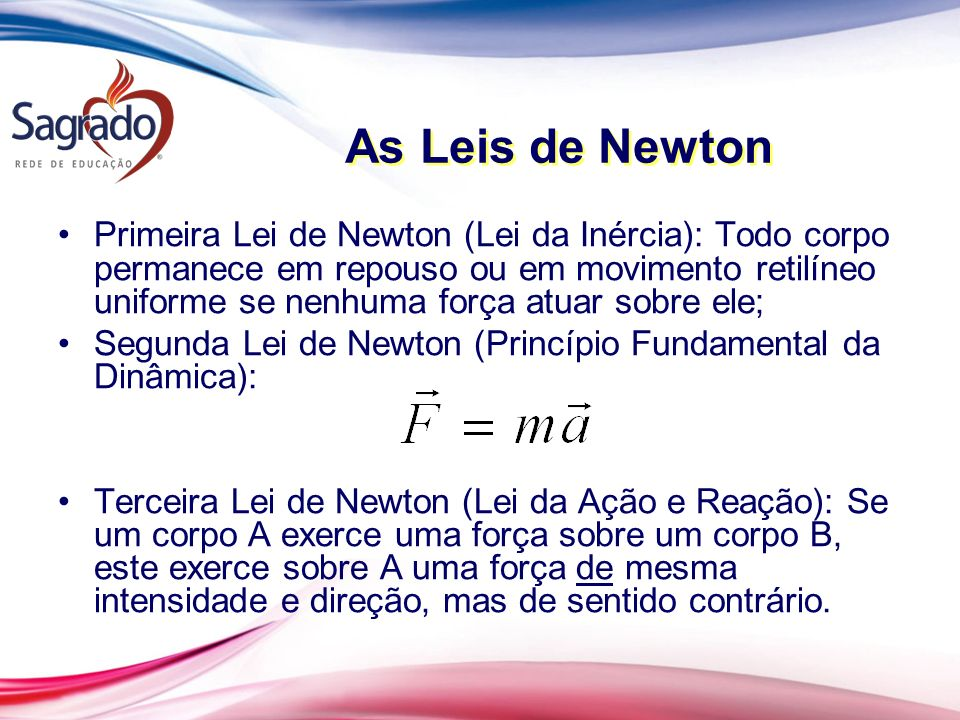As Leis de Newton