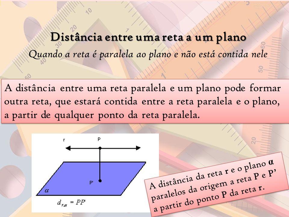 Distância entre uma reta a um plano a1041ccdcf7a