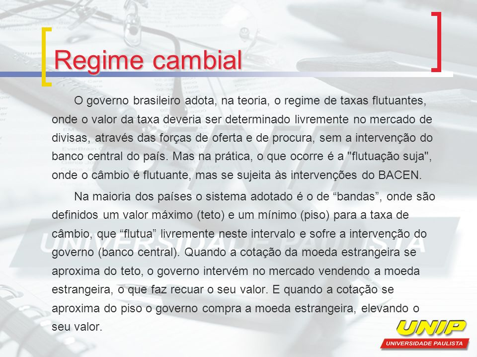 Regime cambial