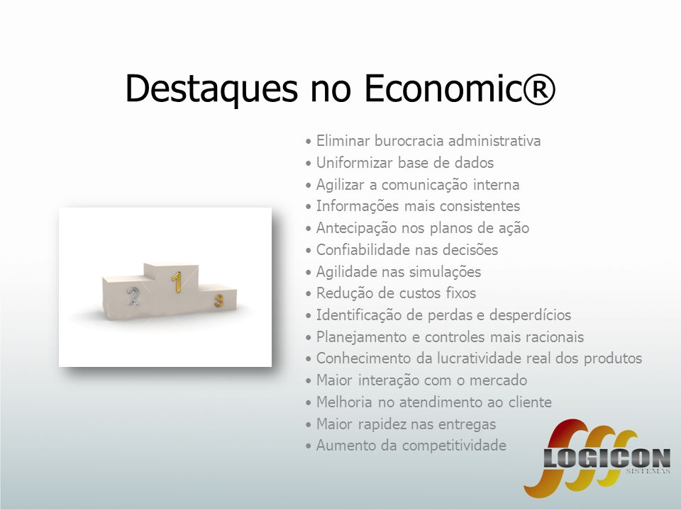 Destaques no Economic®