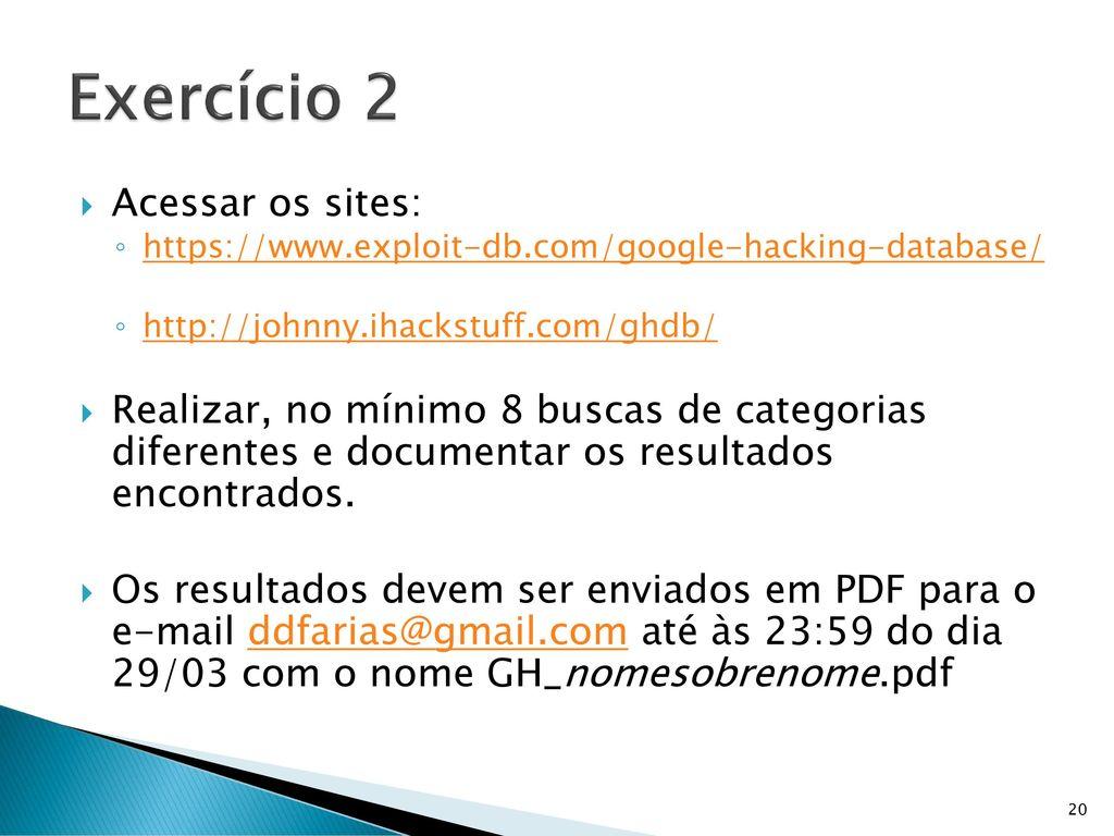 Ghdb pdf
