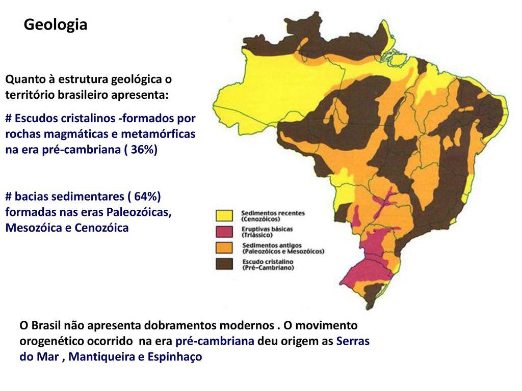 Estrutura Geológica Brasil Ppt Carregar