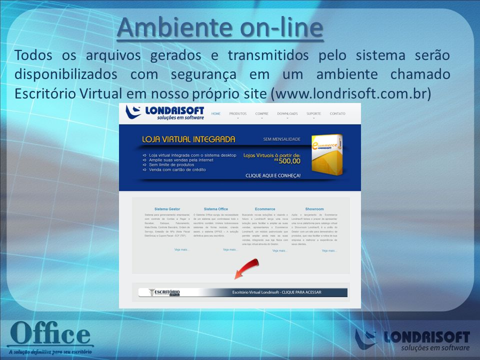 Ambiente on-line