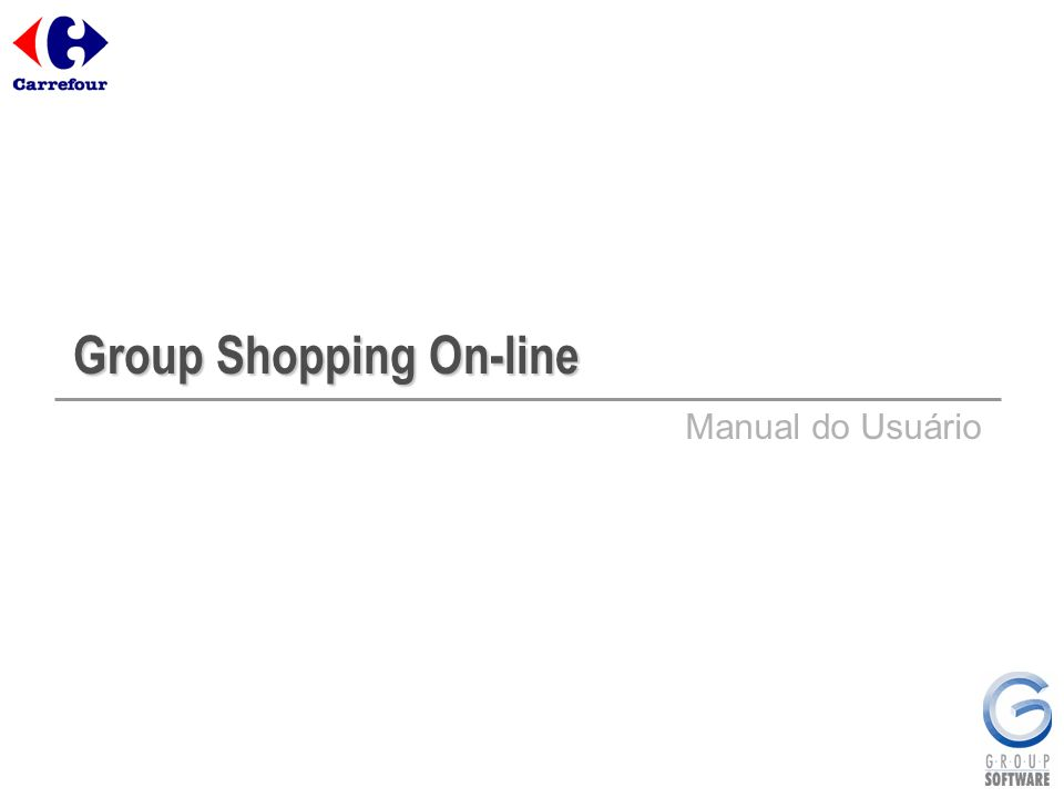Group Shopping On-line