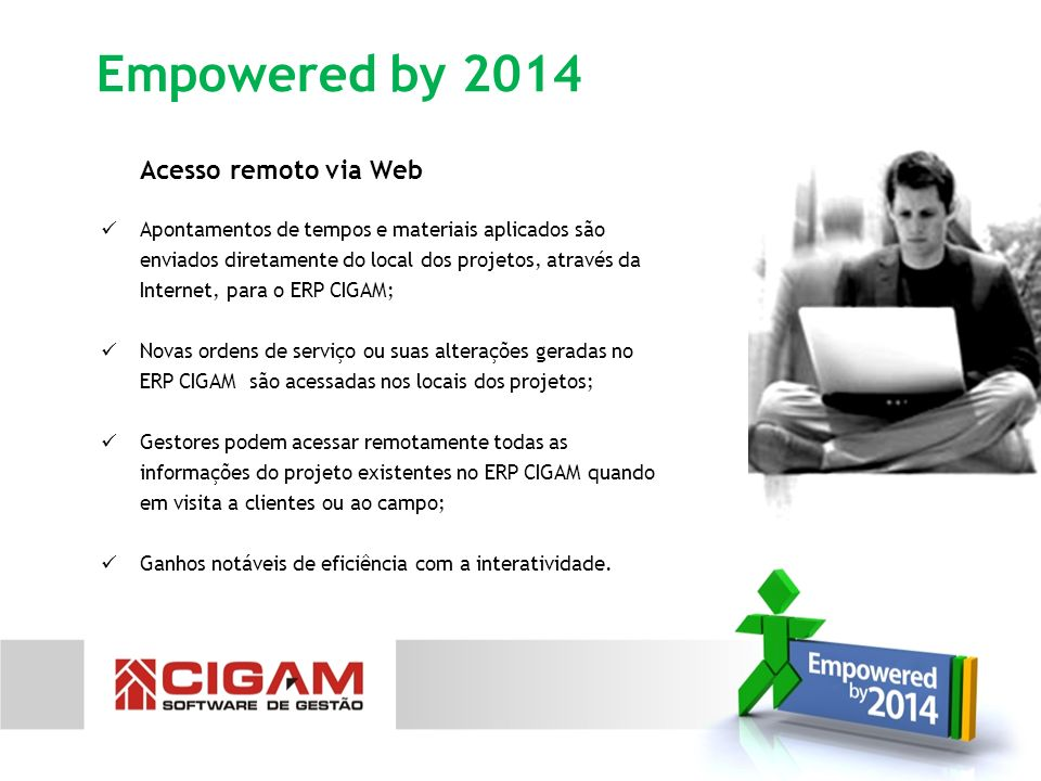 Empowered by 2014 Acesso remoto via Web