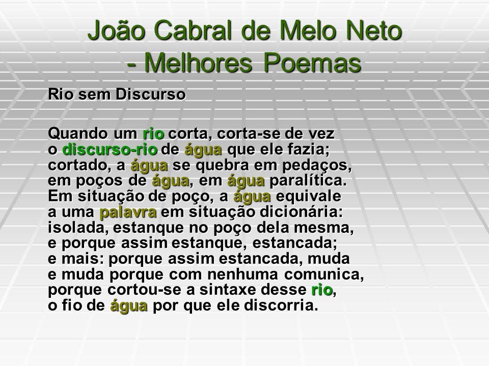 João Cabral De Melo Neto Ppt Video Online Carregar