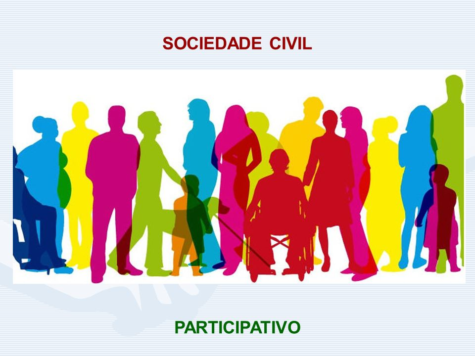 SOCIEDADE CIVIL PARTICIPATIVO