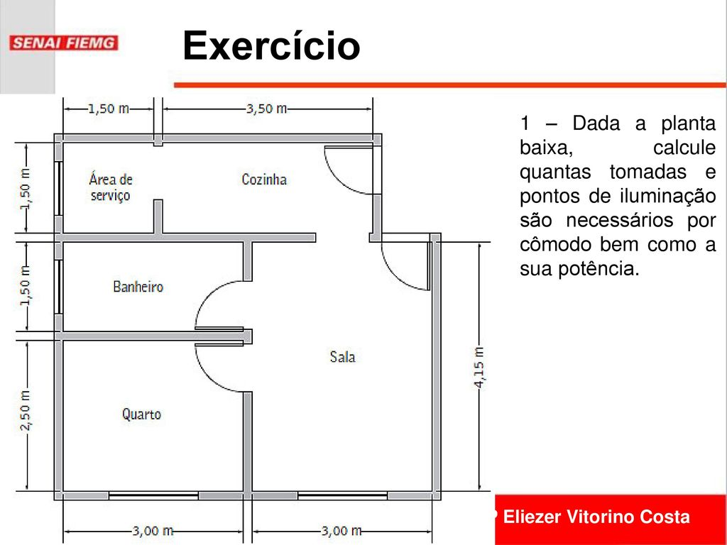 Projeto De Sistemas El Tricos Prediais Cfp Eliezer Vitorino Costa