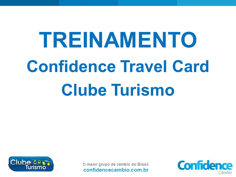 Confidence Travel Card