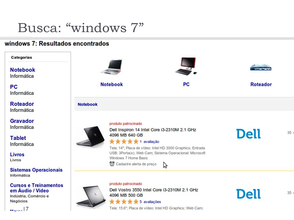 Busca: windows 7