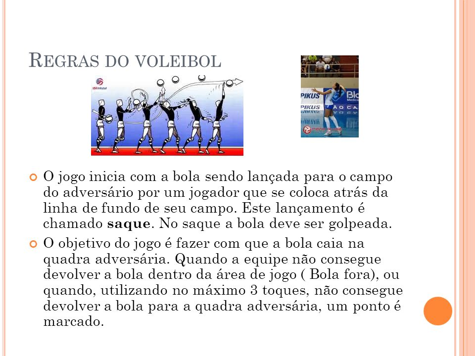 Regras do voleibol