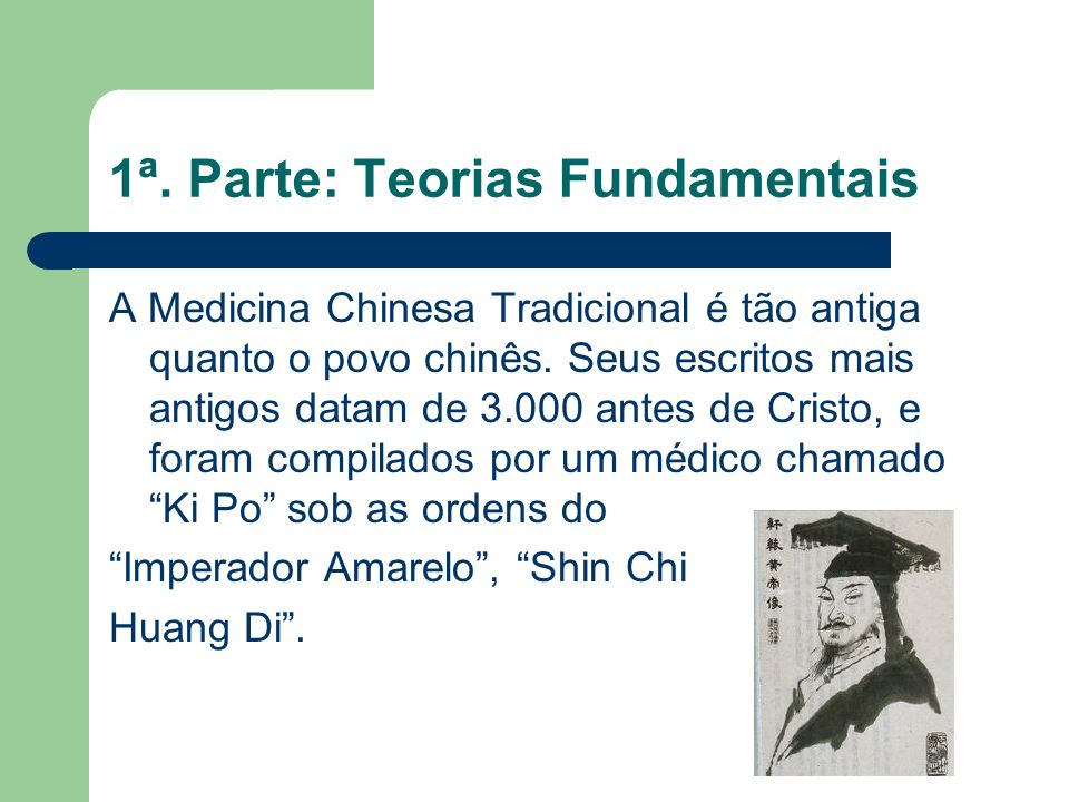 1ª. Parte: Teorias Fundamentais