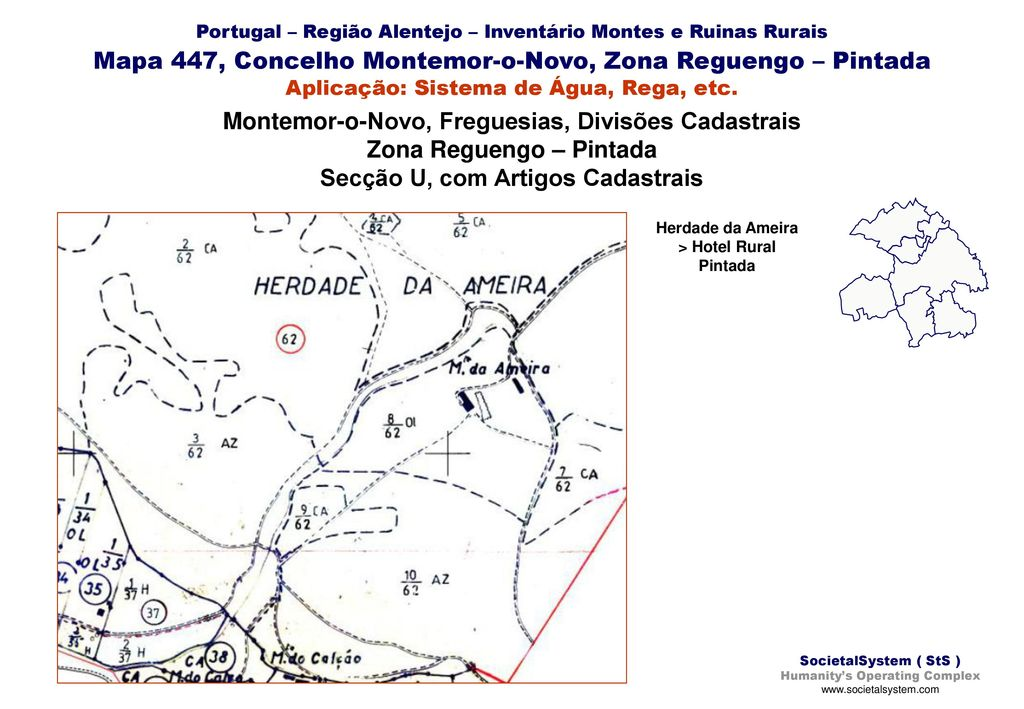 Regiao Alentejo Inventario Montes E Ruinas Rurais Para