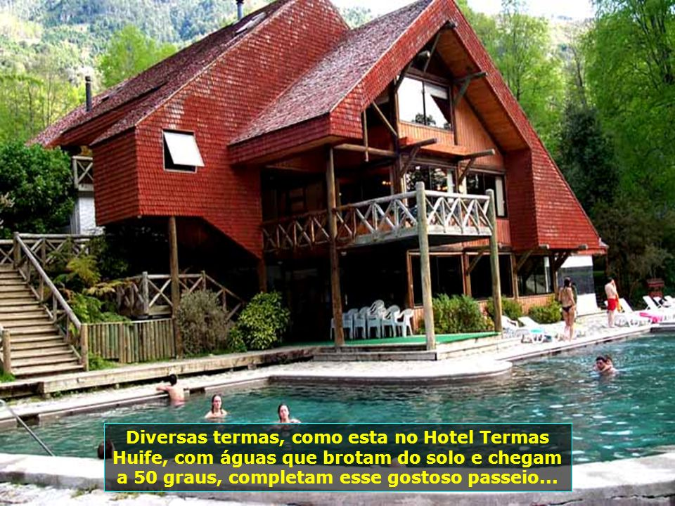 P CHILE-PUCON - HOTEL TERMAS HUIFE