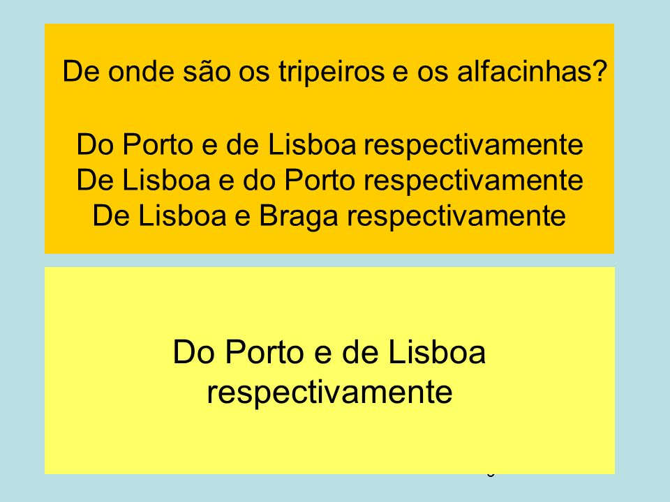 TESTE SÓCIO-CULTURAL lusófono - ppt carregar