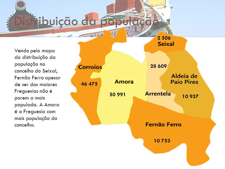 mapa de fernao ferro A Identidade Regional Concelho do Seixal   ppt carregar mapa de fernao ferro