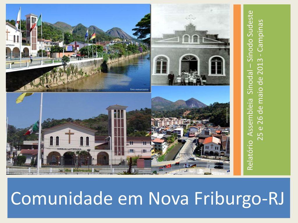 a5426966e Comunidade em Nova Friburgo-RJ - ppt carregar