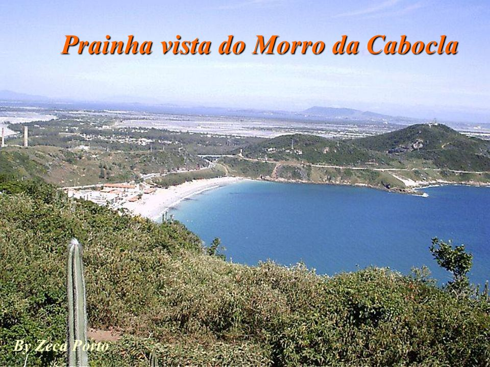 Prainha vista do Morro da Cabocla