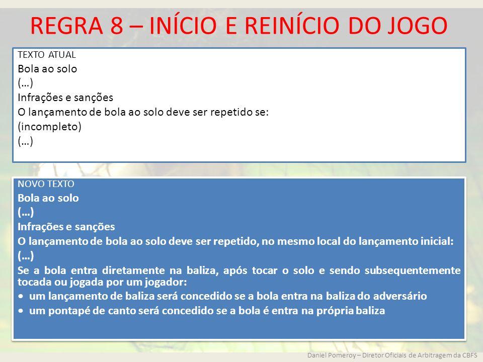 REGRAS DE JOGO E DECISÕES DA IFAB - ppt carregar 5a7c564e4d731