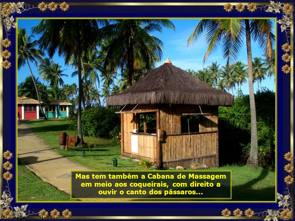 P COSTA DO Sauípe - CABANA DE MASSAGEM-690