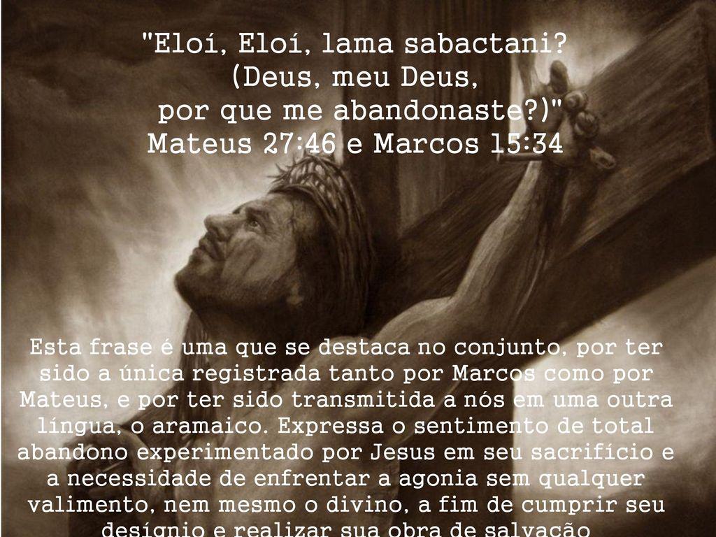 Sete Frases De Jesus Na Cruz Ppt Carregar