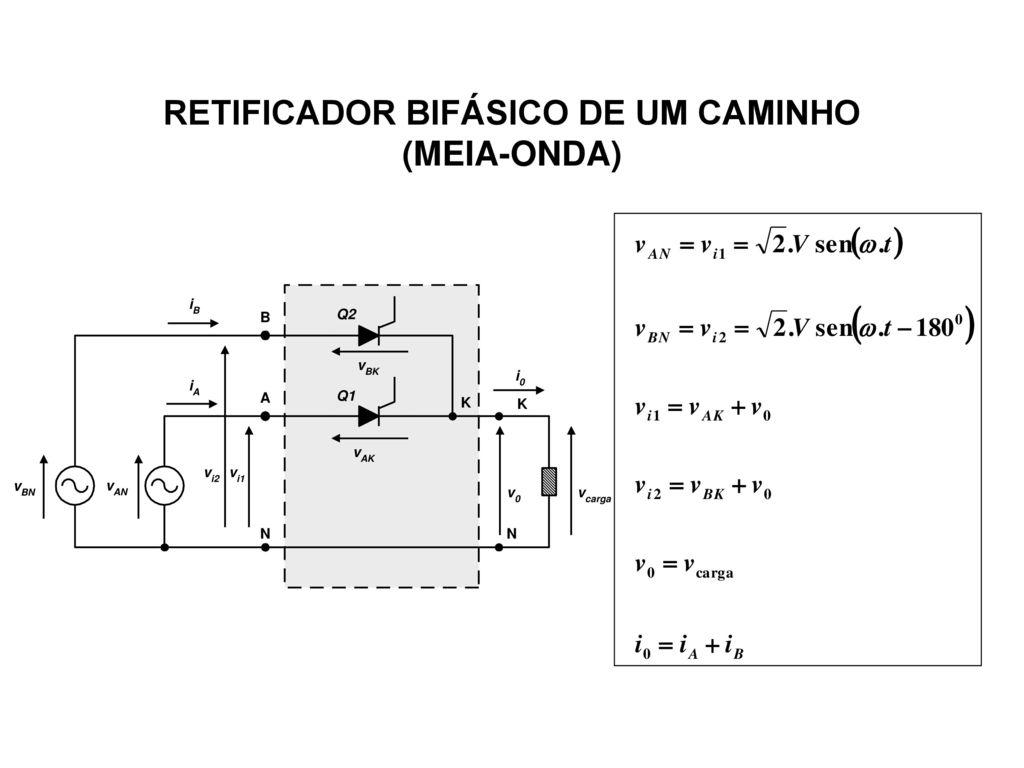 Circuito Retificador : Retificadores polifÁsicos u parte i ppt carregar