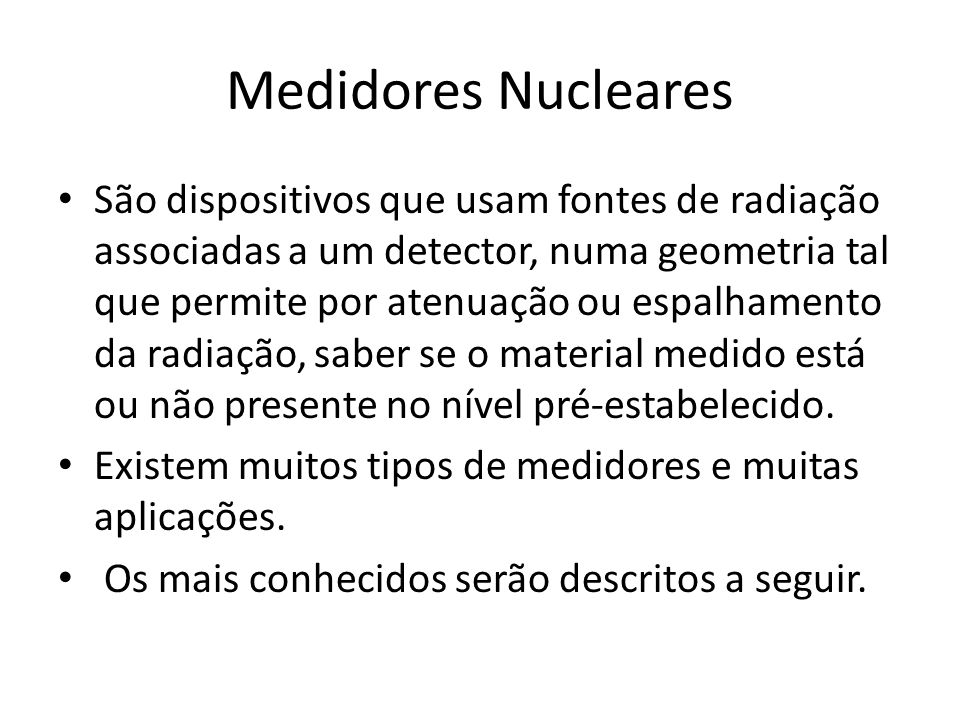 Medidores Nucleares