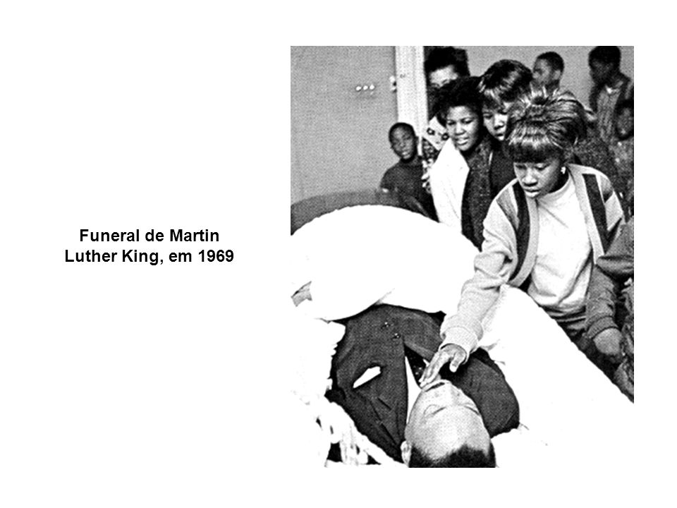 Funeral de Martin Luther King, em 1969