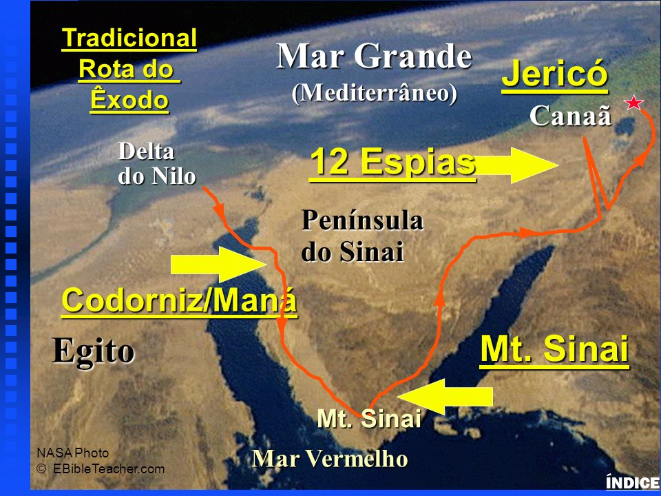 Exodus Major Events Map