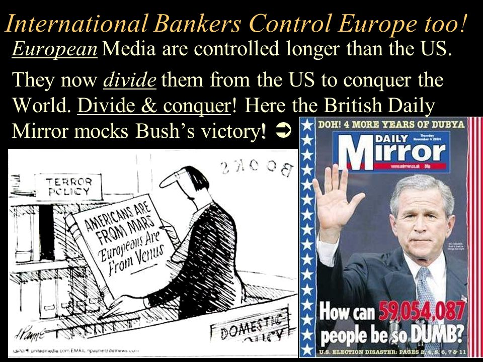 International Bankers Control Europe too!