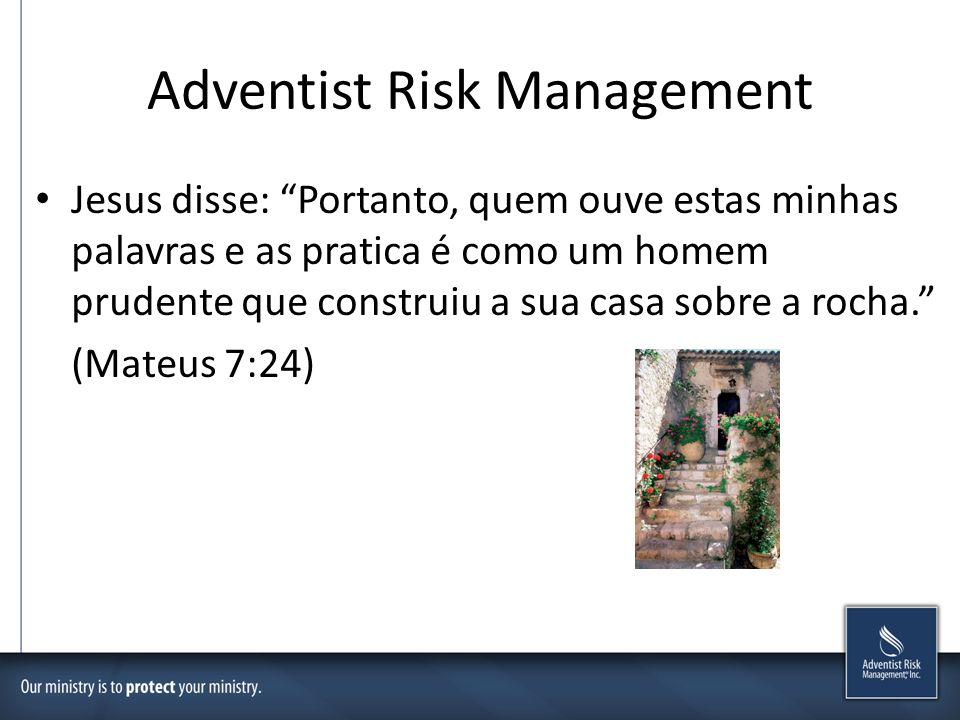 Adventist Risk Management