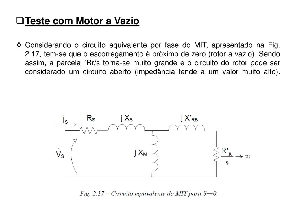 Circuito Aberto : Conversão de energia ii t6cv2 n6cv2 ppt carregar